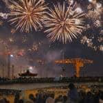 feu d'artifice nantes fete nationale 14 juillet 2019