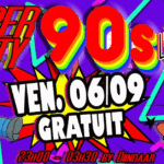 super 90s party le rond point dj diindaar