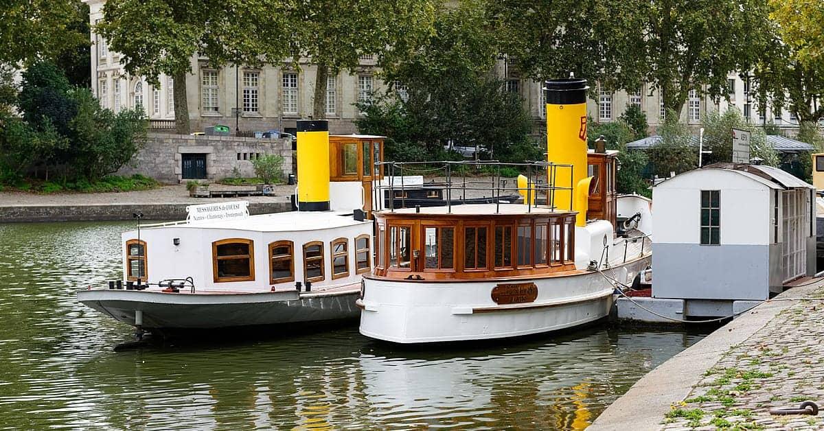 Nantes les journees du patrimoine 2019 bateaux erdre