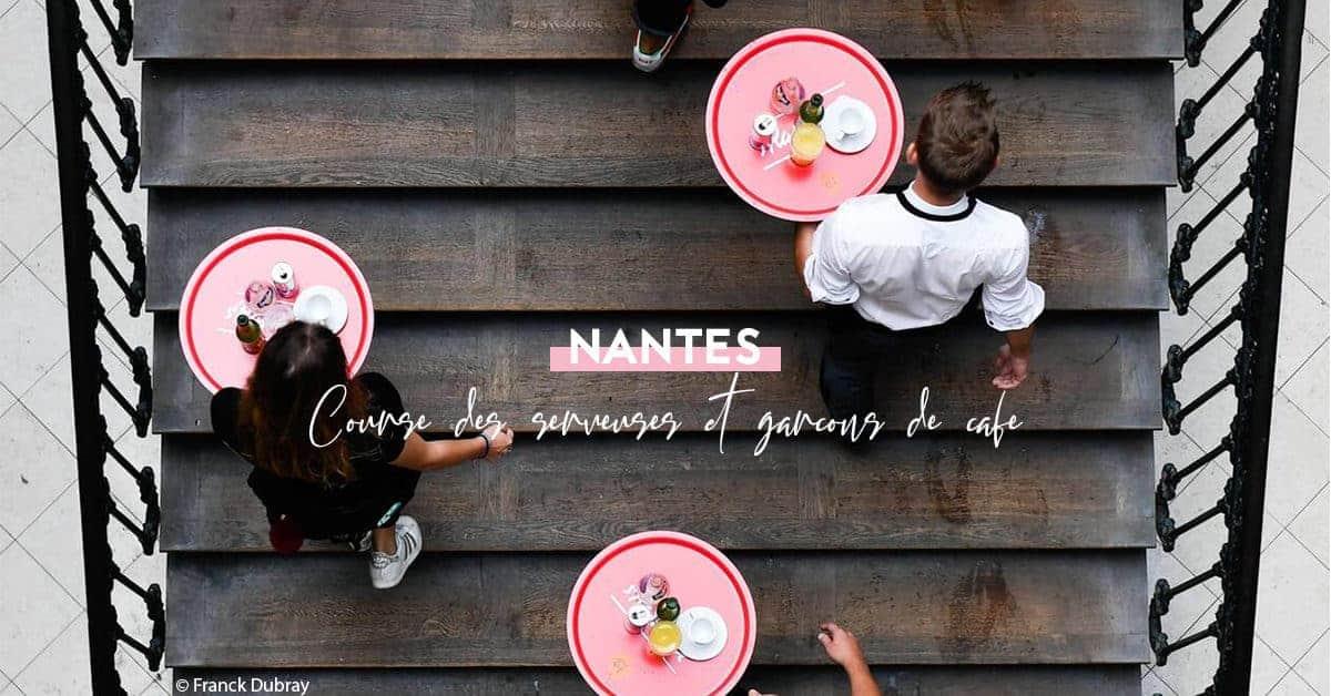 course des serveuses et garcons de cafe nantes 2019