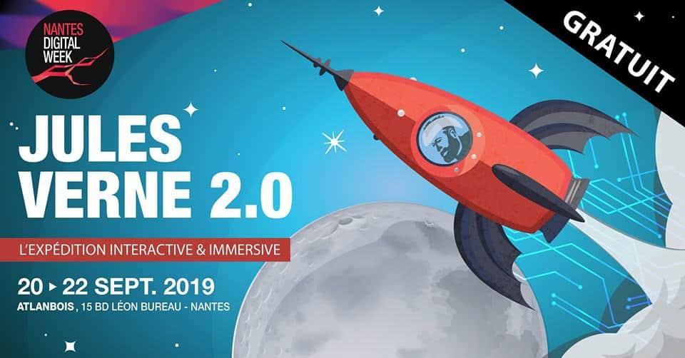 exposition jules verne 2.0 nantes digital week 2019 numerique