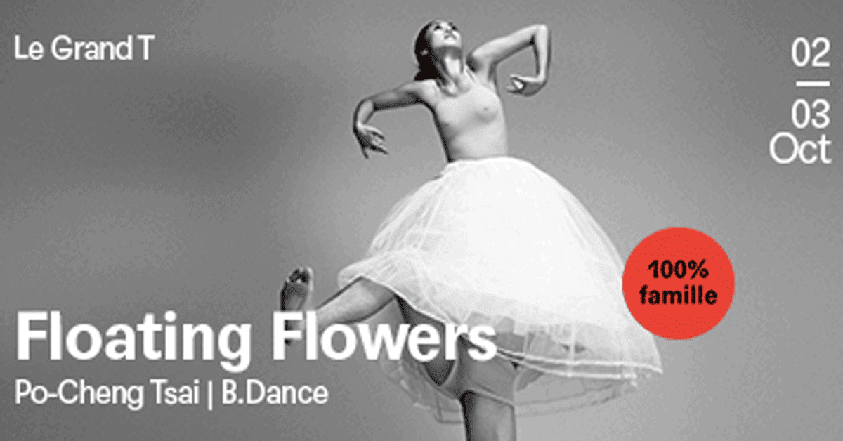 floating flowers danse grand T
