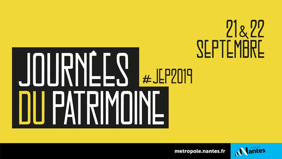 journees du patrimoine ville de Nantes 2019