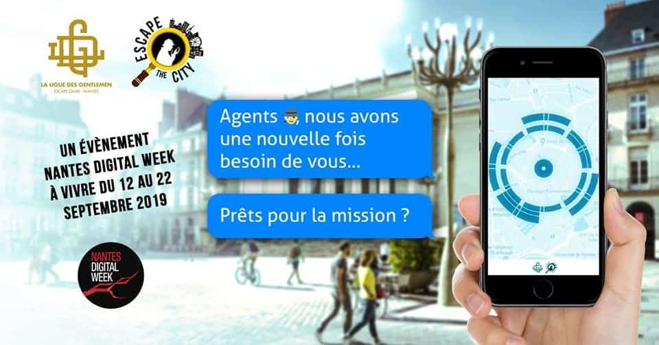 nantes digital week escape game 2019