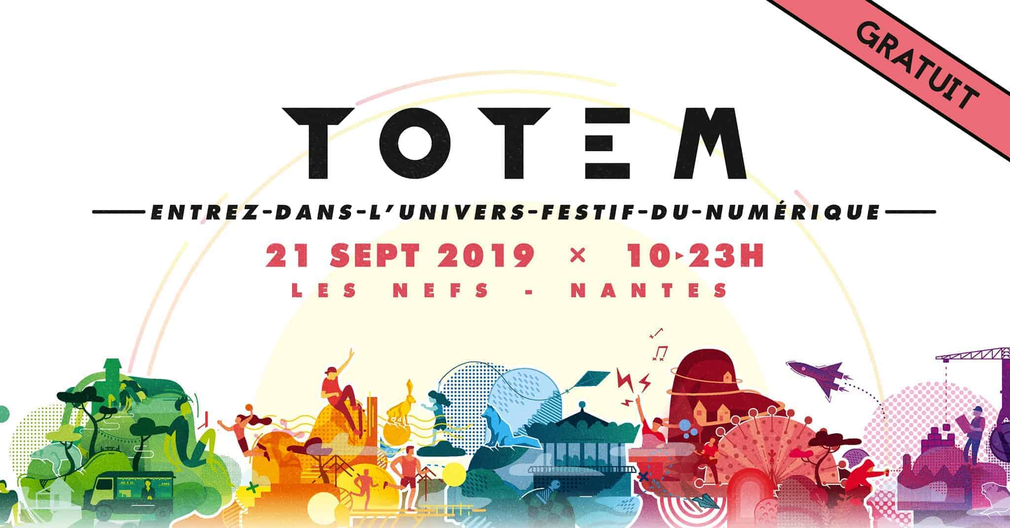 totem nantes digital week 2019