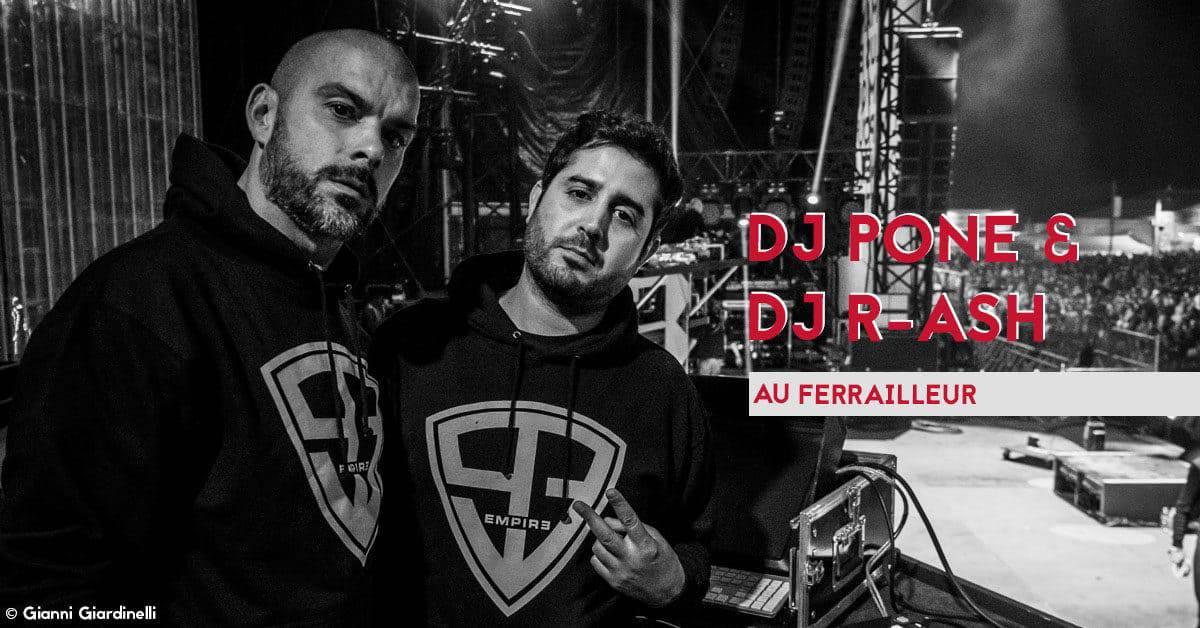 DJ pone r-ash ferrailleur ntm