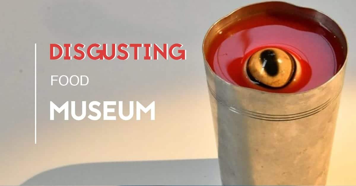 disgusting food museum hab galerie nantes 2019