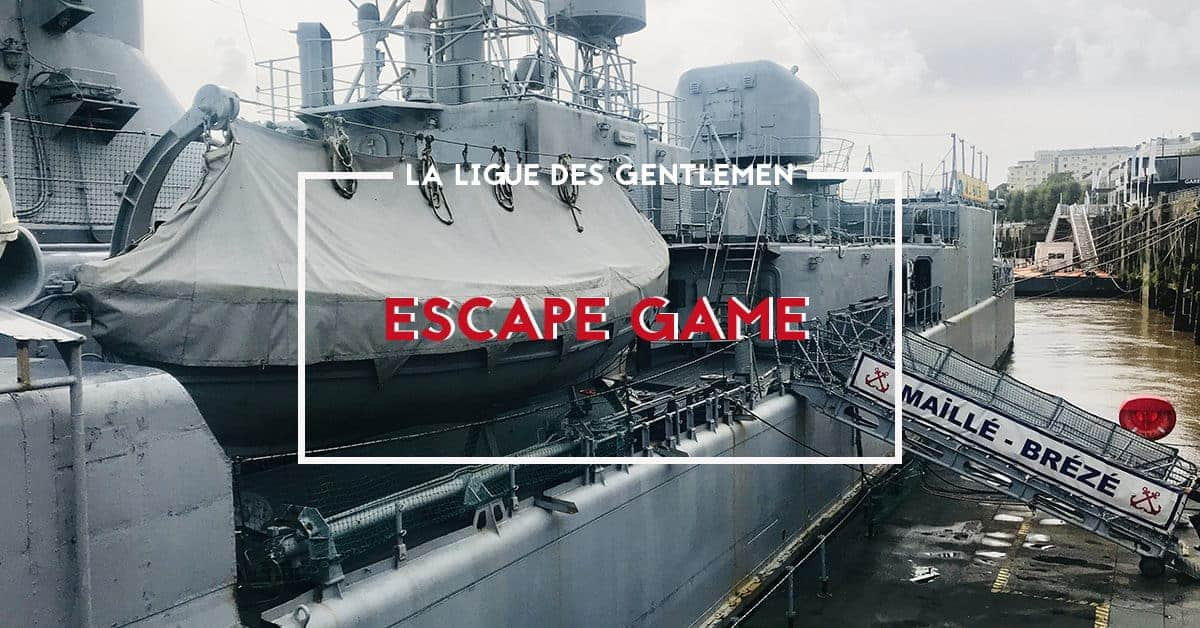 mission escape game la ligue des gentlemen maille-breze nantes 2019