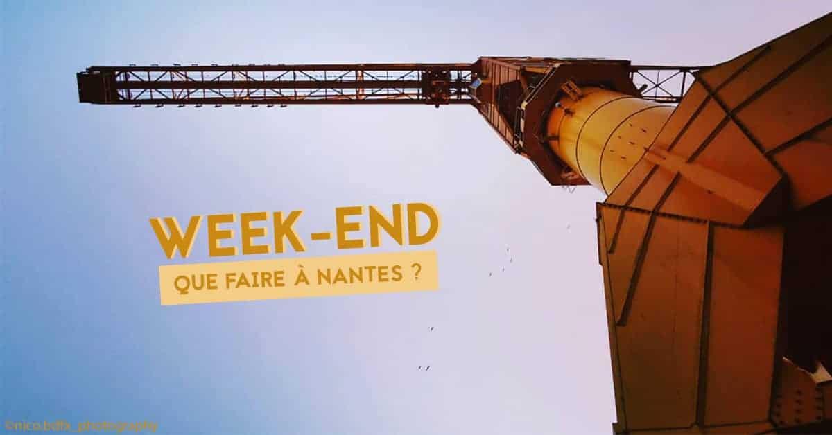 que faire à Nantes ce week-end du 18, 19 et 20 octobre 2019