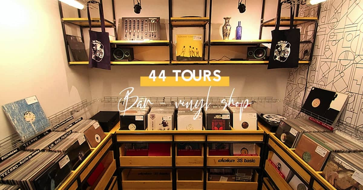 44 tours bar vinyl shop nantes 3