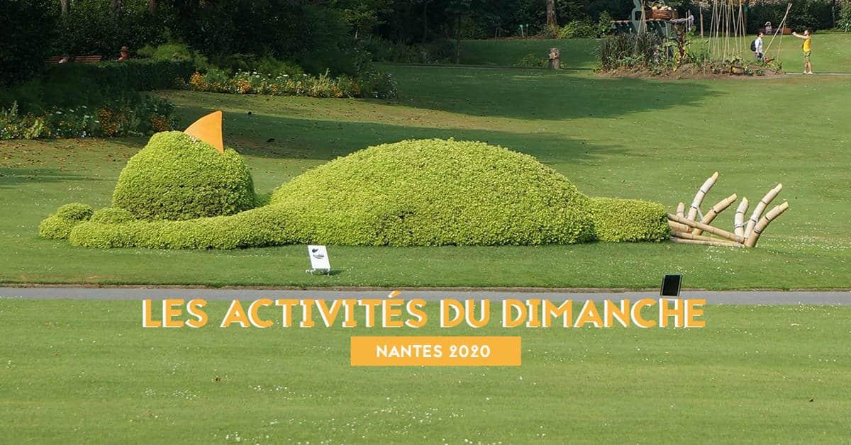 LES ACTIVITES DU DIMANCHE NANTES 2020