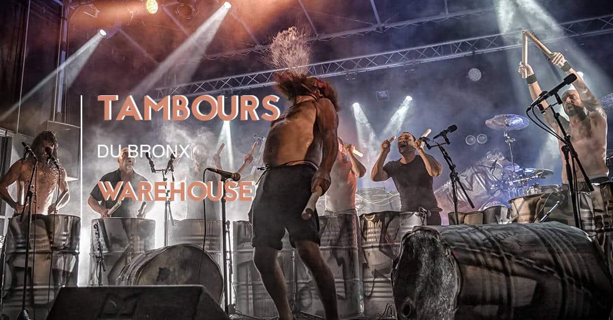 les tambours du bronx 2019 au Warehouse nantes