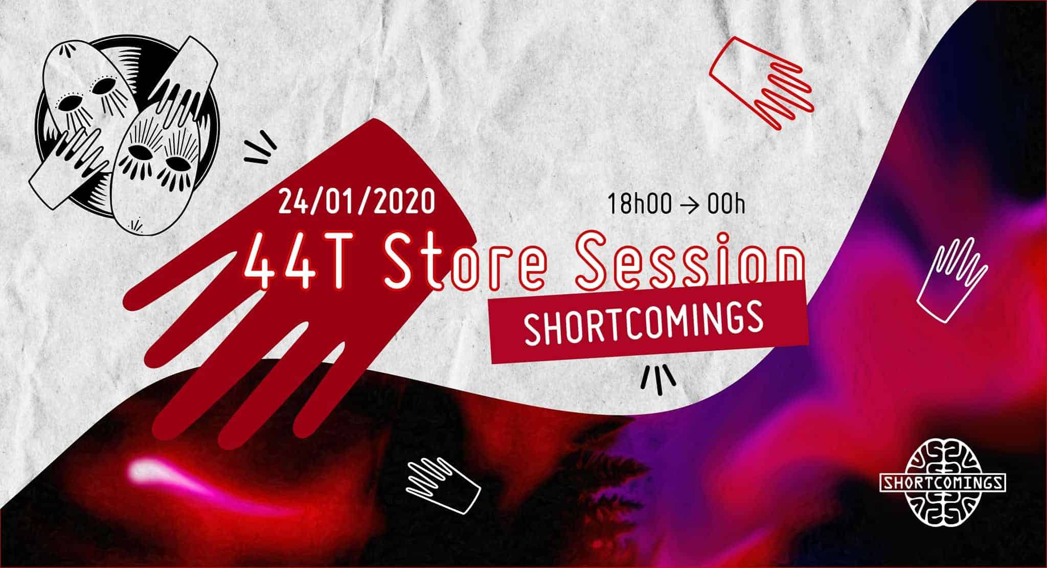44 tours store session