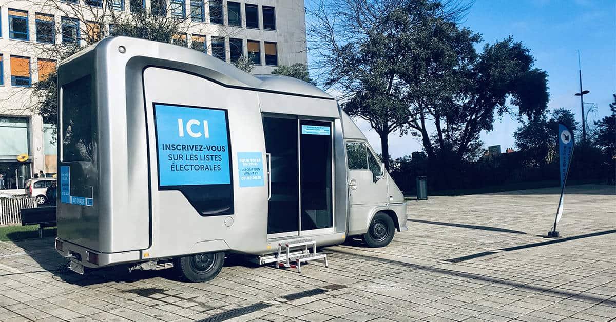 bus civique listes electorales elections municipales nantes 2020
