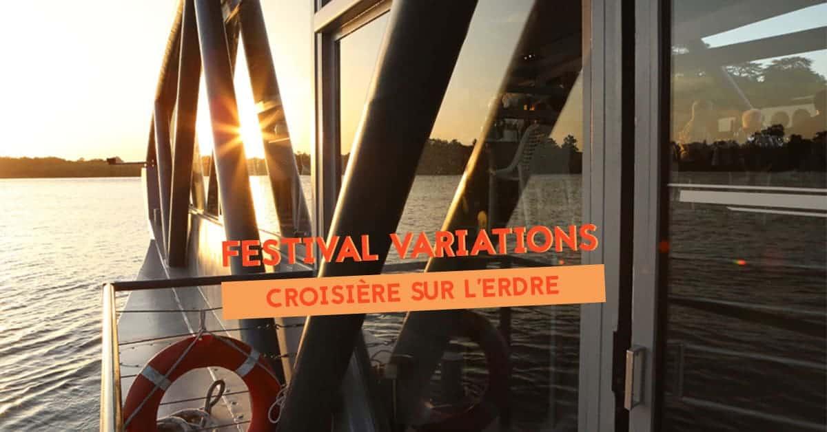 Festival Variations 2020 : une Boat Party sur l'Erdre !