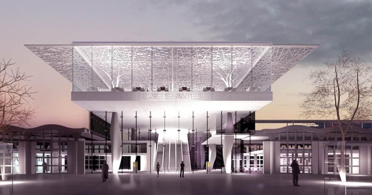 gare de nantes mezzanine 2020