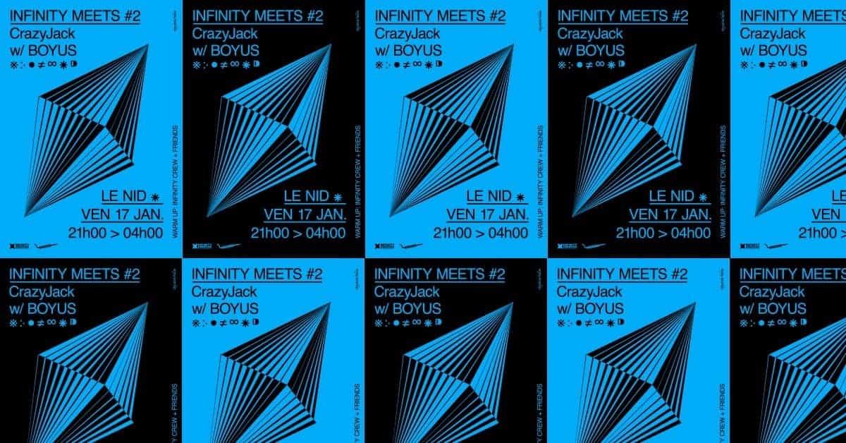 Infinity Meets #2 au Nid