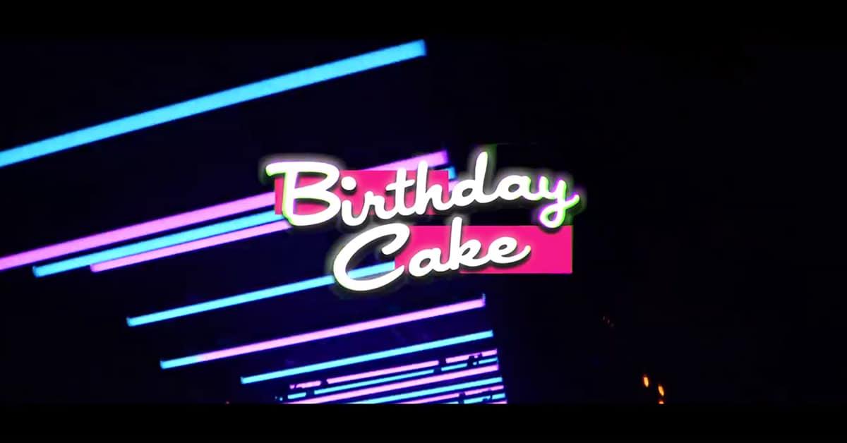 Birthday Cake au New Factory