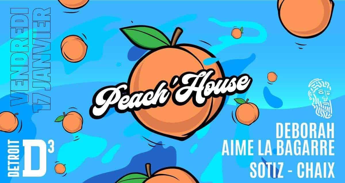 peach house d3troit