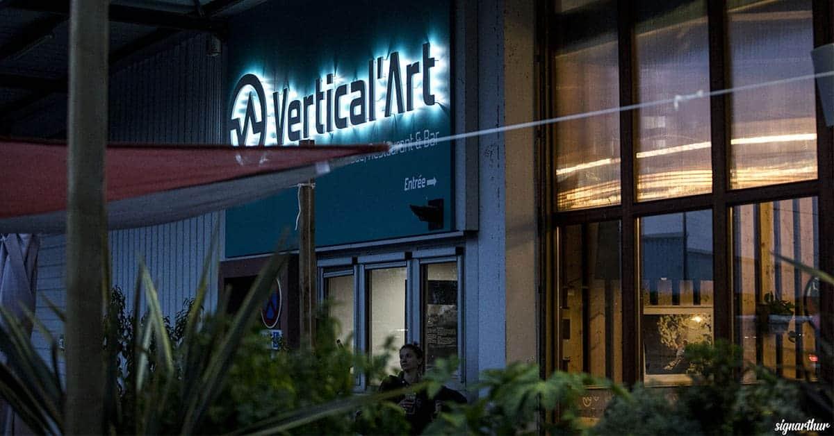 Vertical Art Nantes escalade grimper bloc salle murs sport resto muscu sauna