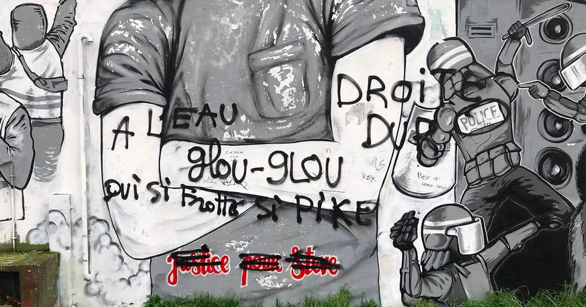 fresque degradee steve nantes