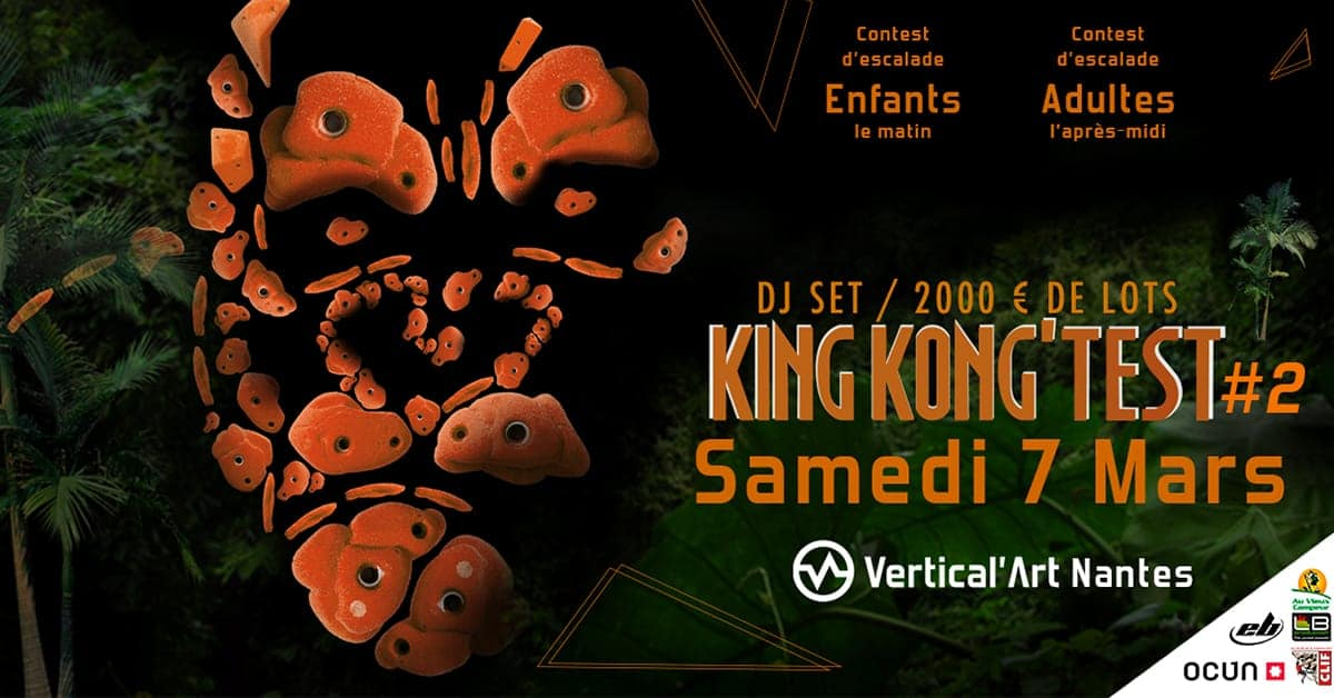 king kong test contest vertical art Nantes