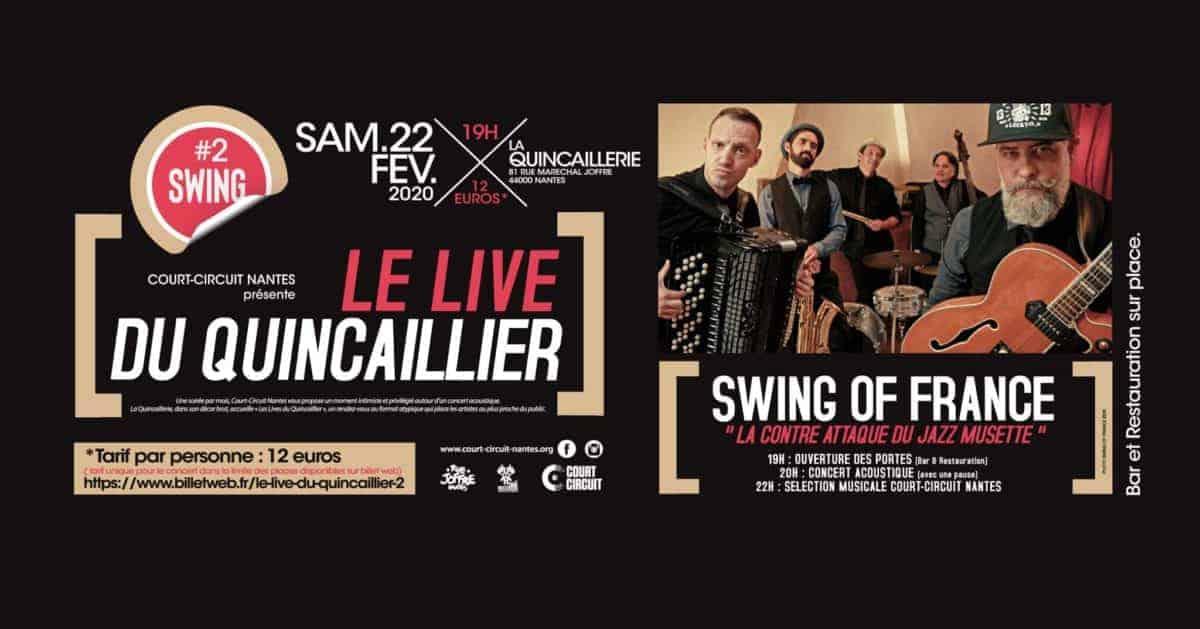 Court Circuit Nantes : le Live du Quincaillier #2 !