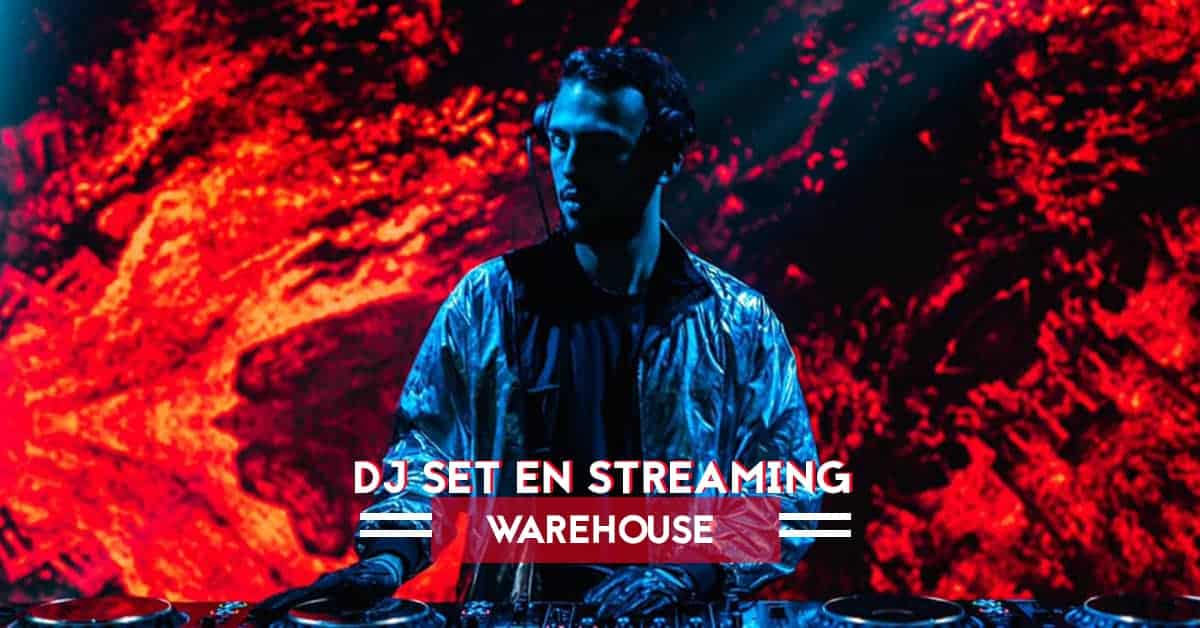 streaming dj set nojack warehouse nantes coronavirus