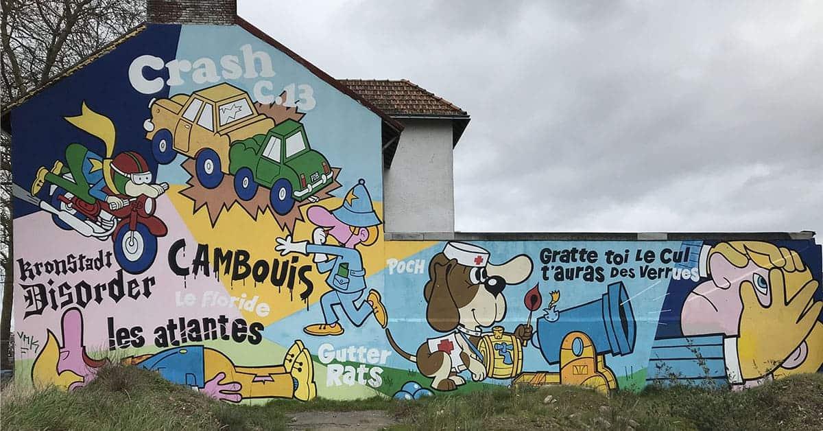 fresque floride street art nantes 2020