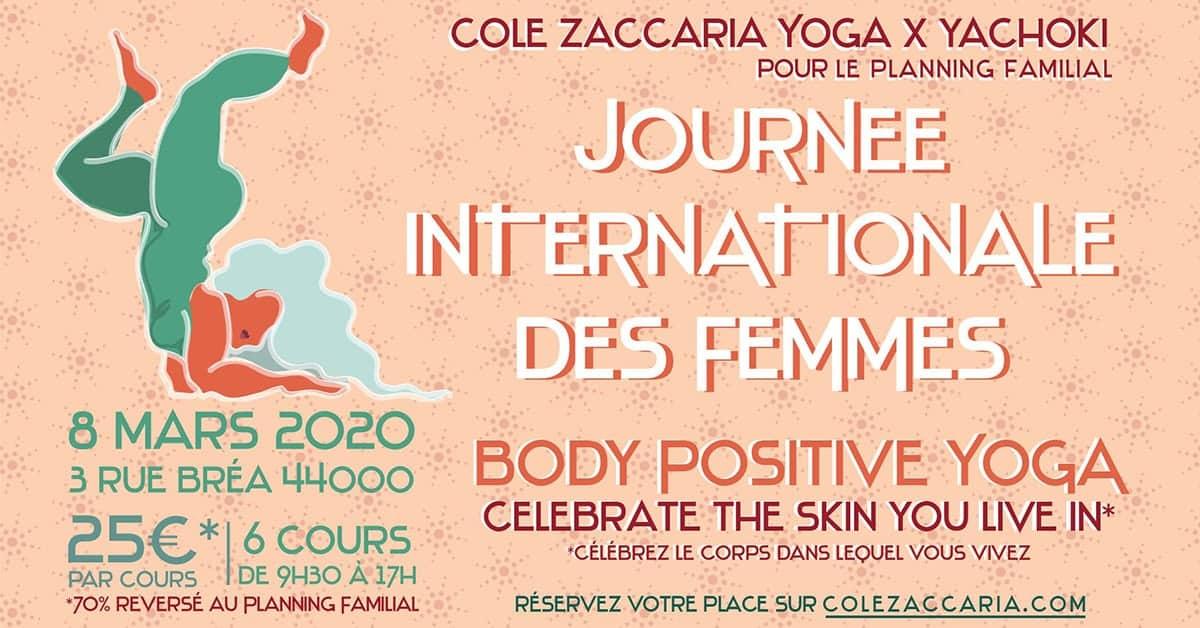 journée postive body yoga