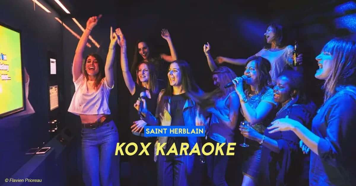 kox karaoke saint herblain