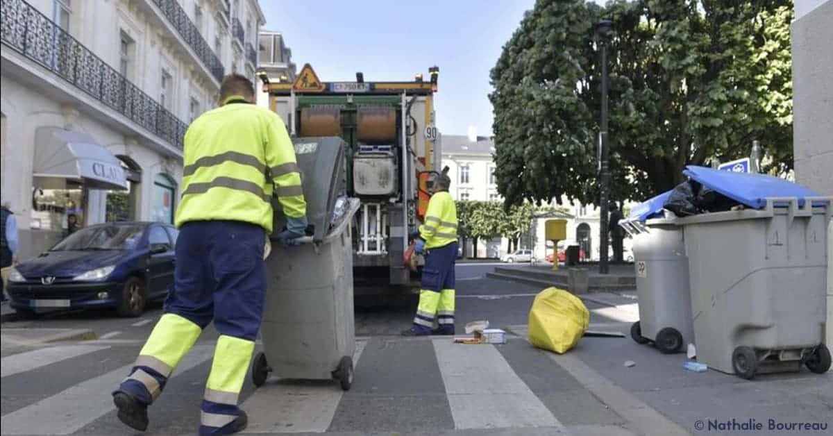 nantes coronavirus ordures recyclables