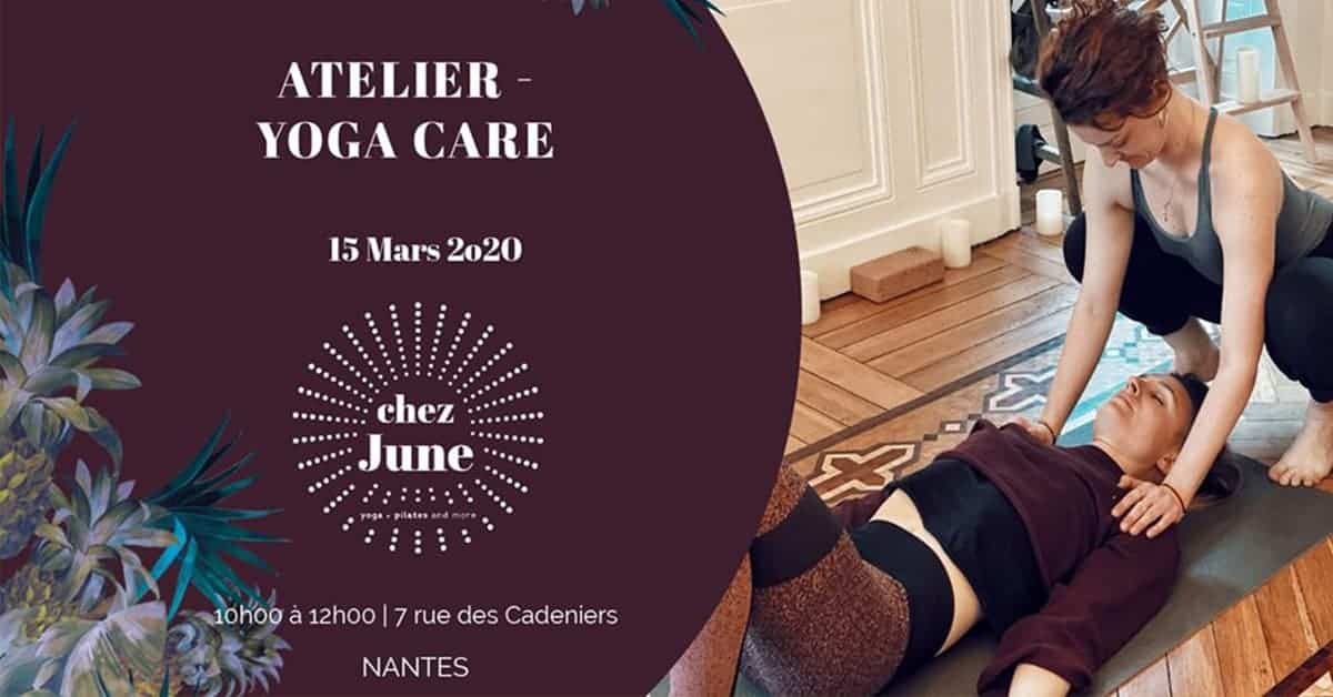 yoga care atelier chez june