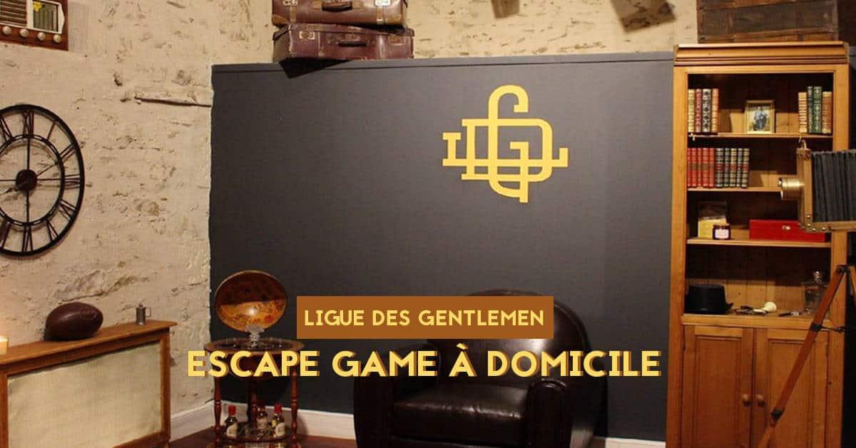 ligue des gentlemen escape game en ligne confinement