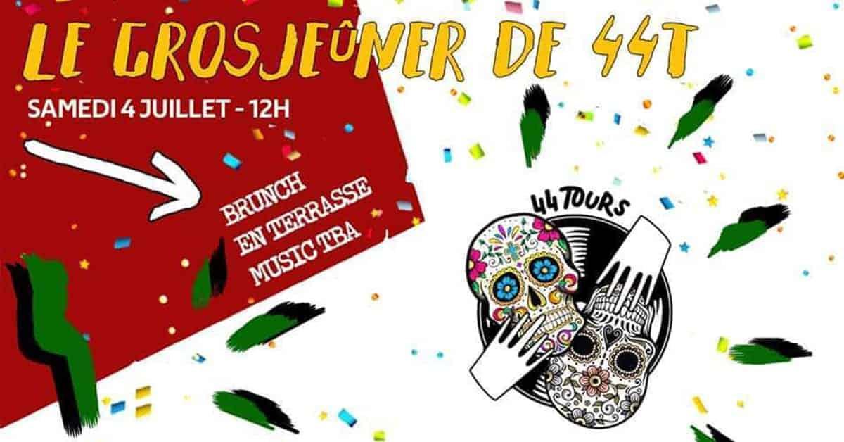44 Tours : un brunch à la sauce mexicaine !