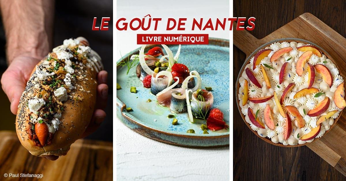 le gout de nantes livre numerique de recettes de chefs nantais 1