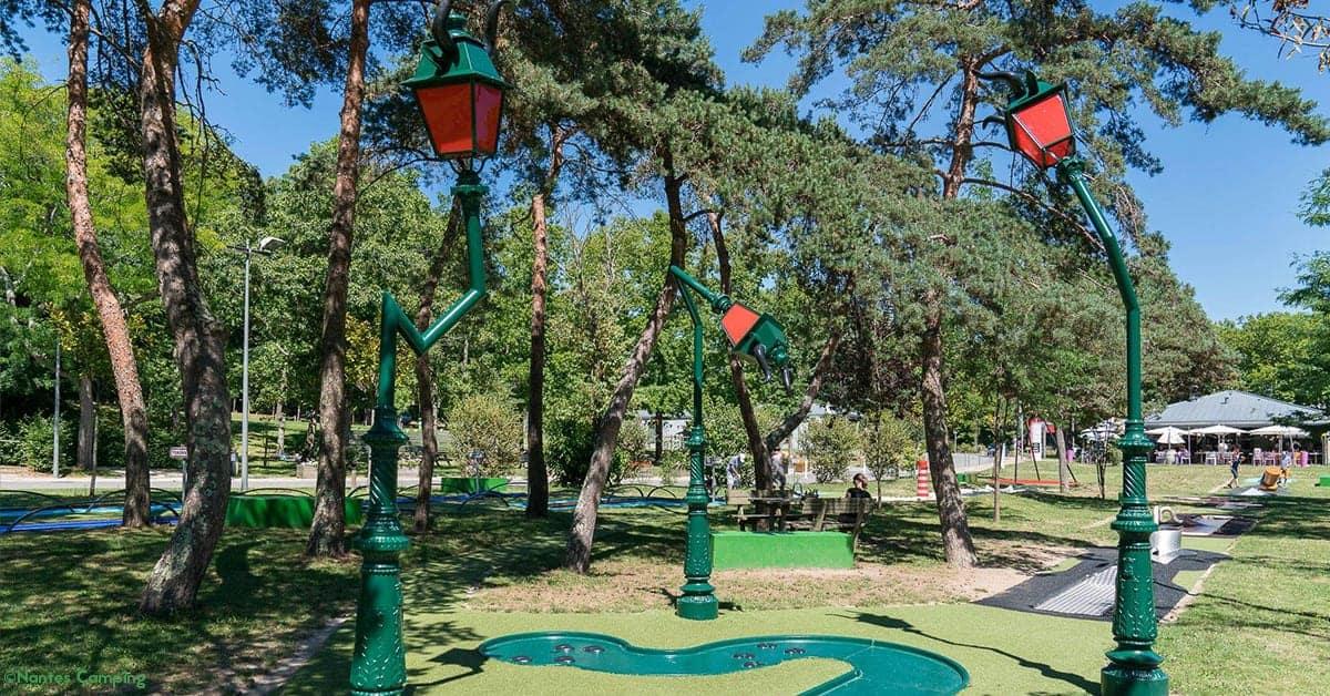 nantes camping petit port mini golf