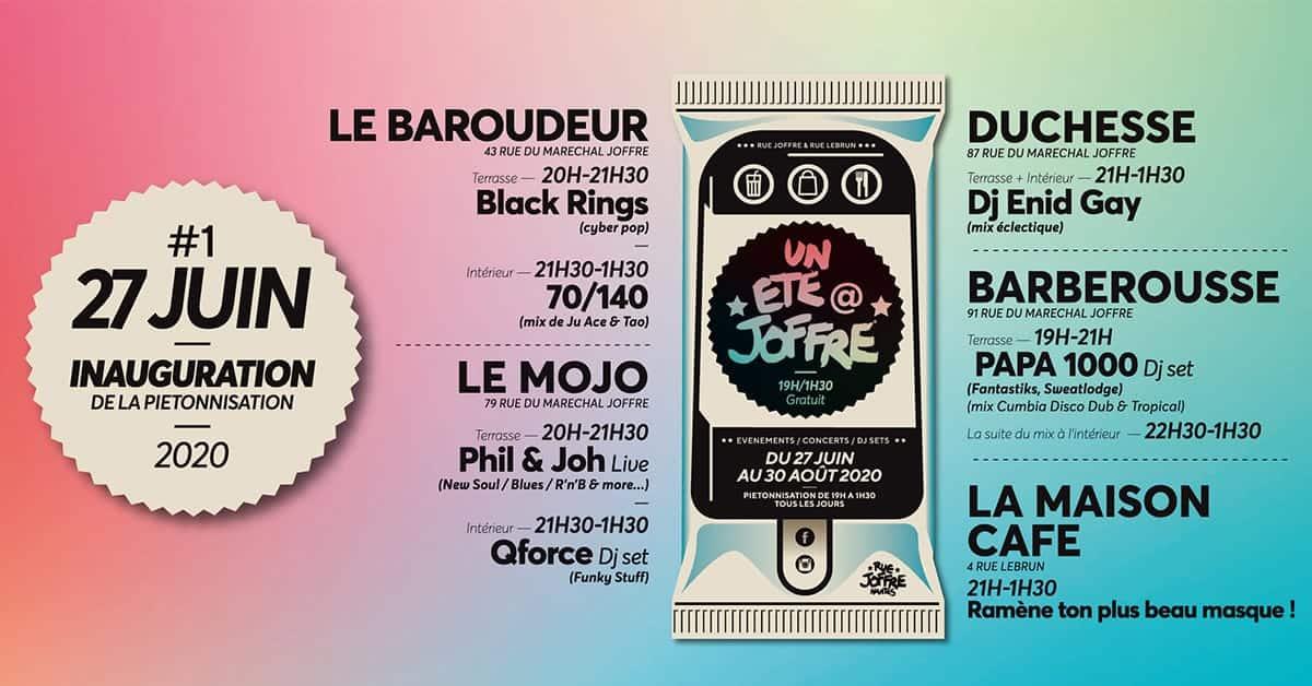 rue joffre pietonnisation inauguration nantes 2020