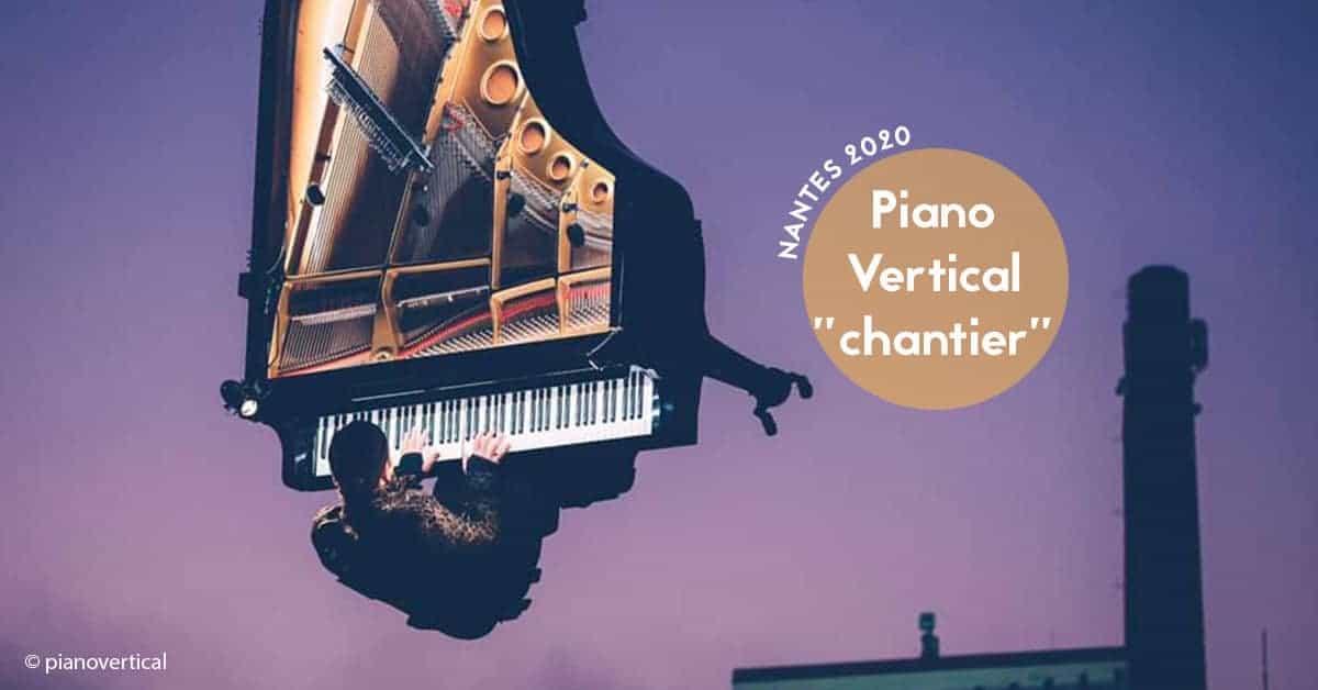 Piano Vertical chantier par Alain Roche nantes 2020 pianiste suspendu