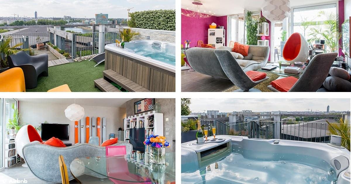 airbnb nuit insolite jaccuzzi nantes 2020
