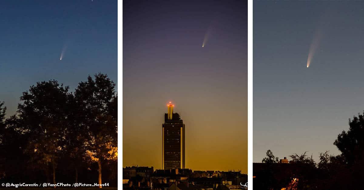 comete nantes 2020 juillet ete nuit astronomie