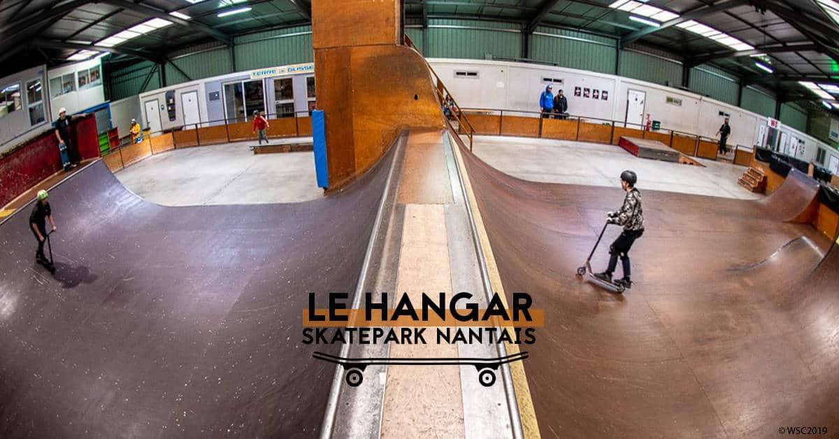 le hangar nantes skatepark 2020