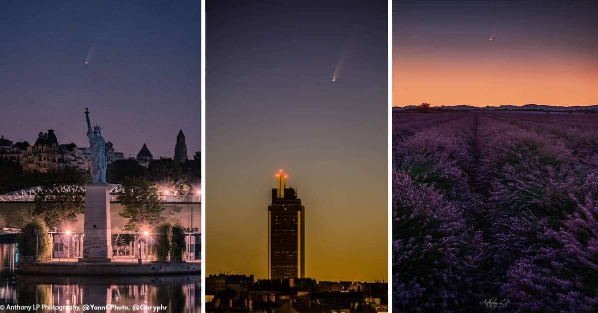 nantes 2020 comete ciel