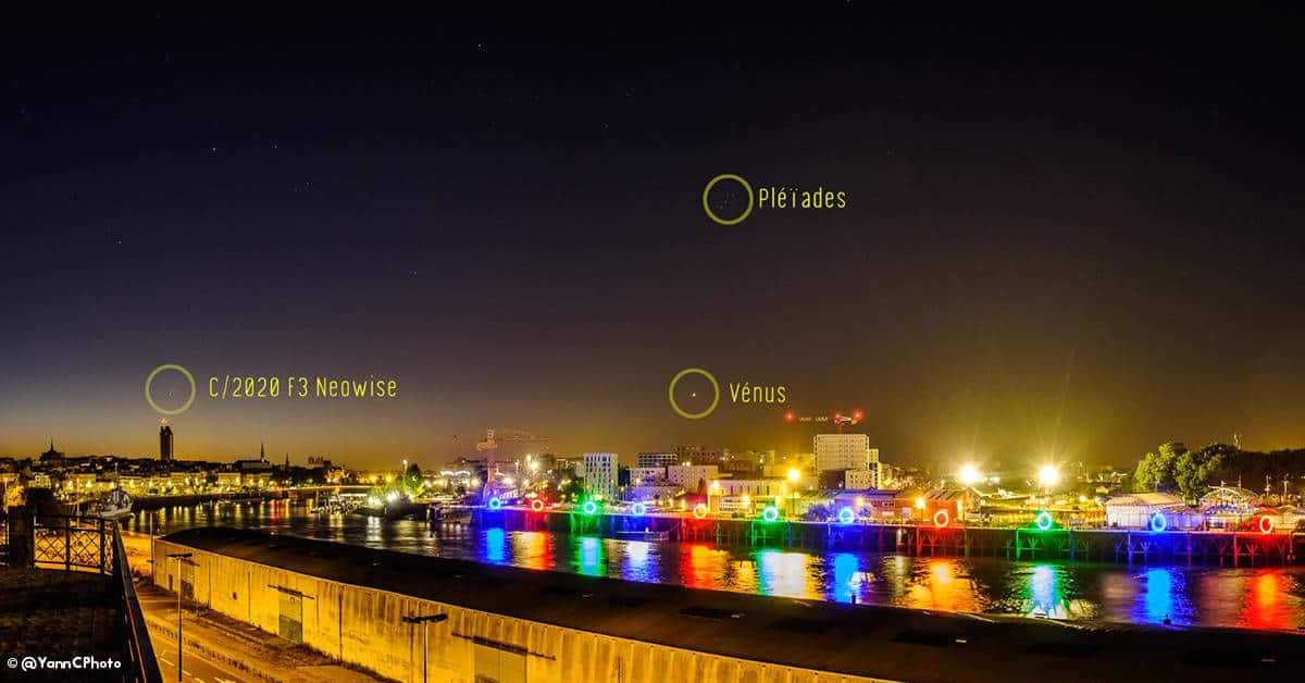 nantes 2020 comete etoiles astronomie