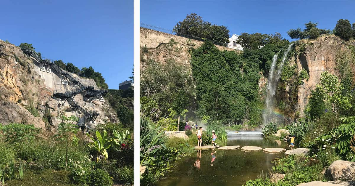 jardin extraordinaire nantes escalier chantier carriere misery