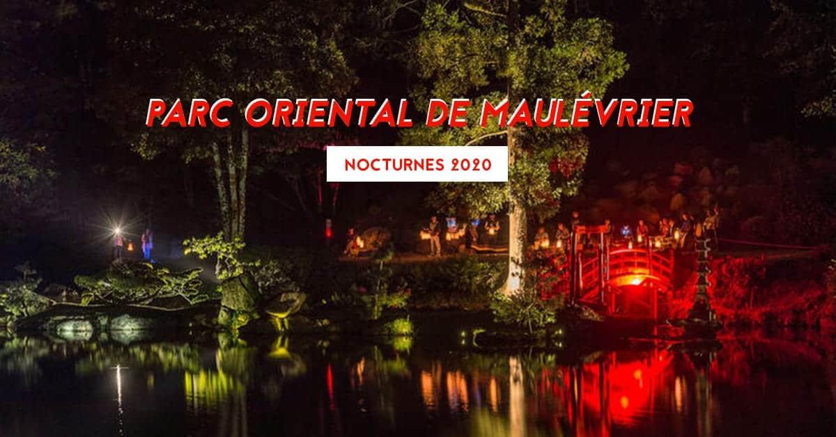 parc oriental de maulevrier jardin japonais nocturnes 2020