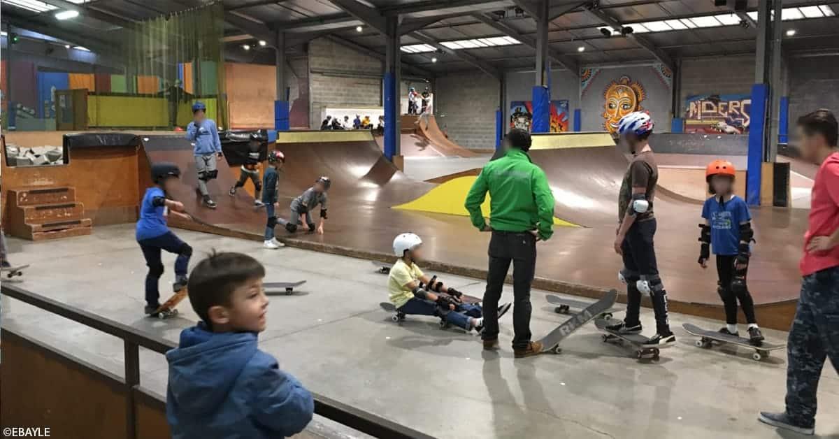 skatepark le hangar nantes 2020