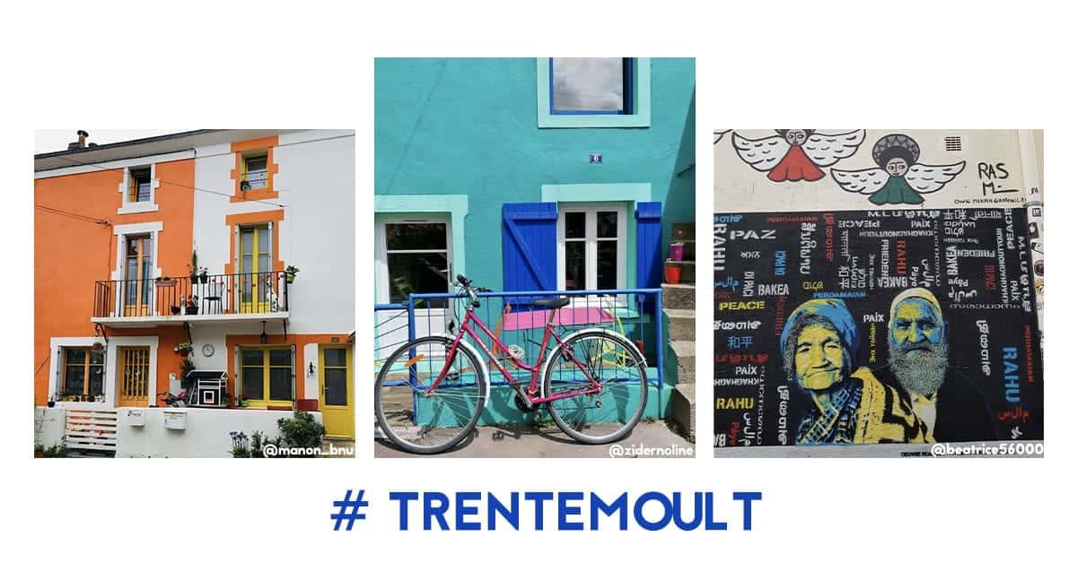 trentemoult nantes maisons couleurs