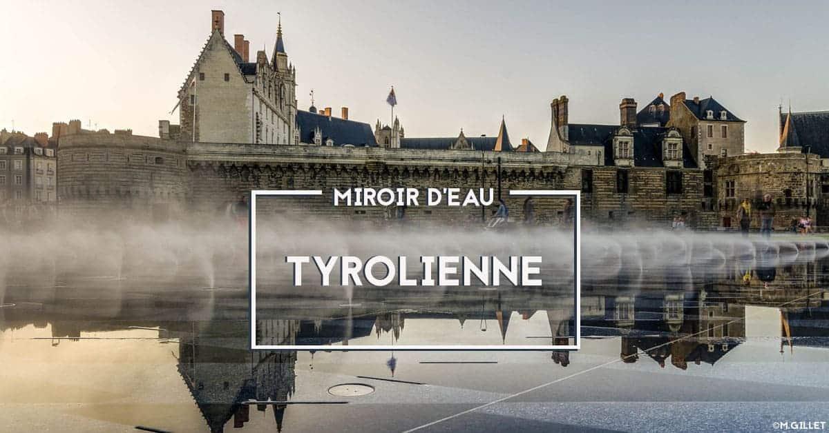 tyrolienne nantes jardin des plantes miroir d'eau 2020 ete