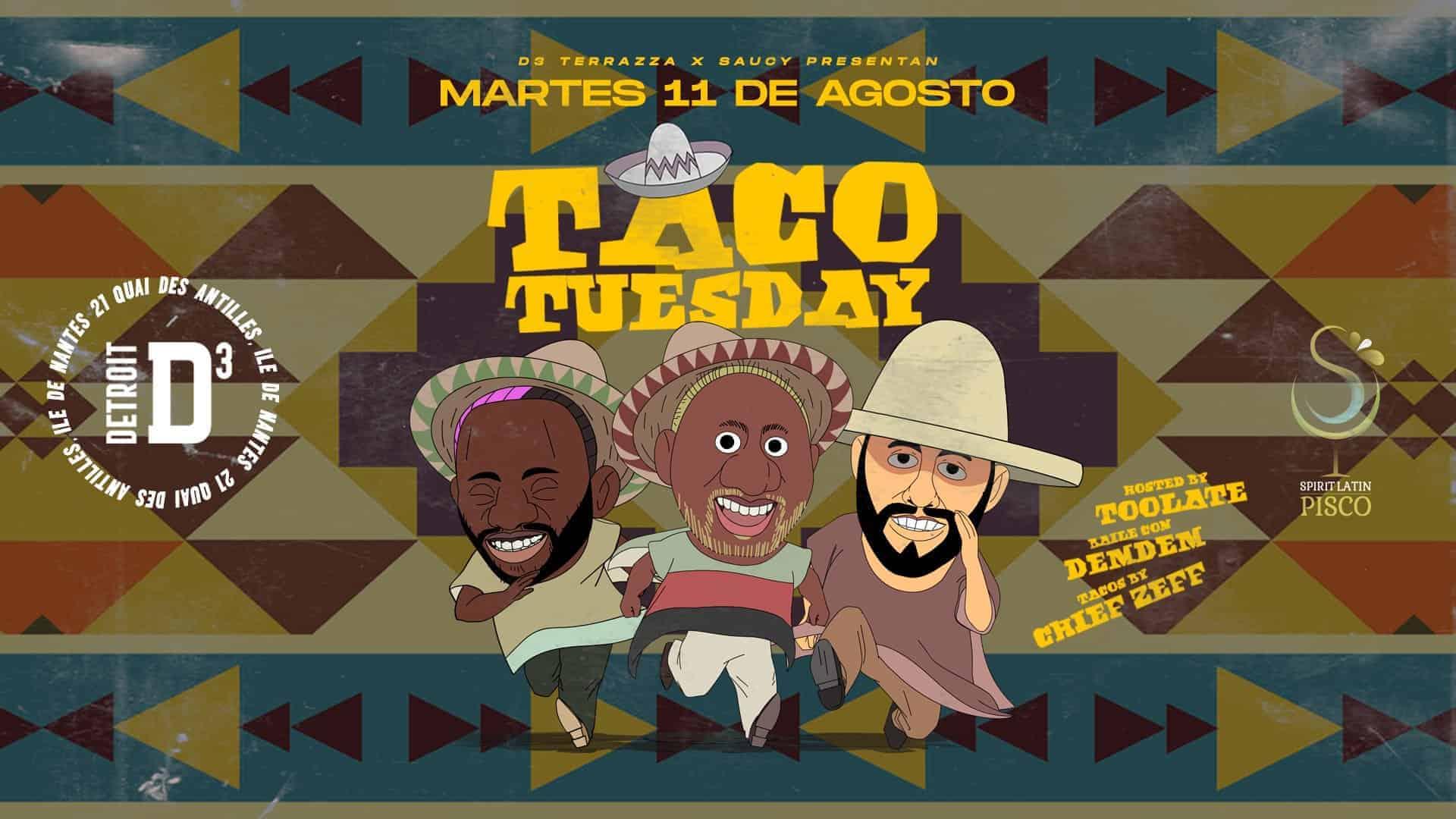 D3 tacos tuesday